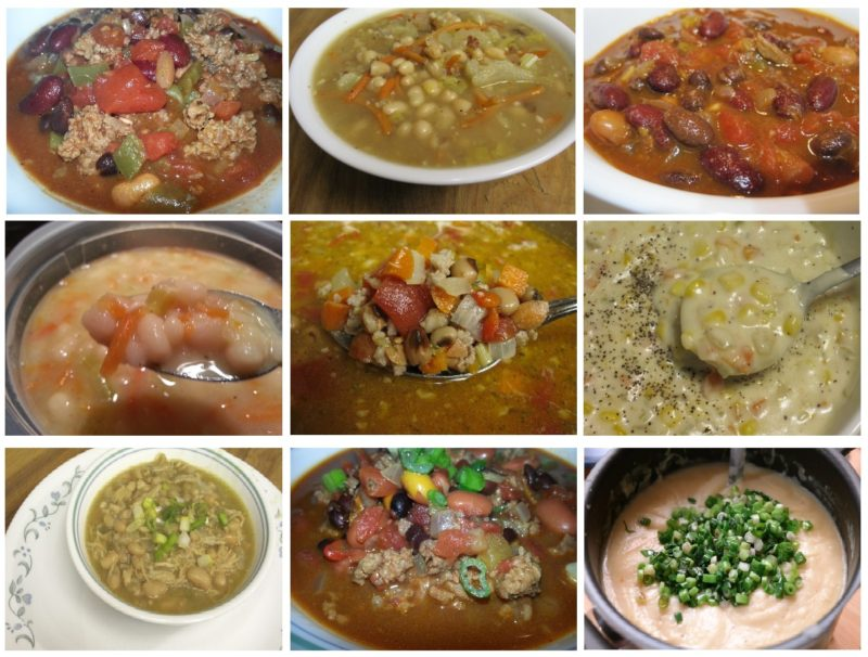 Nine Soup Recipes for National Homemade Soup Day