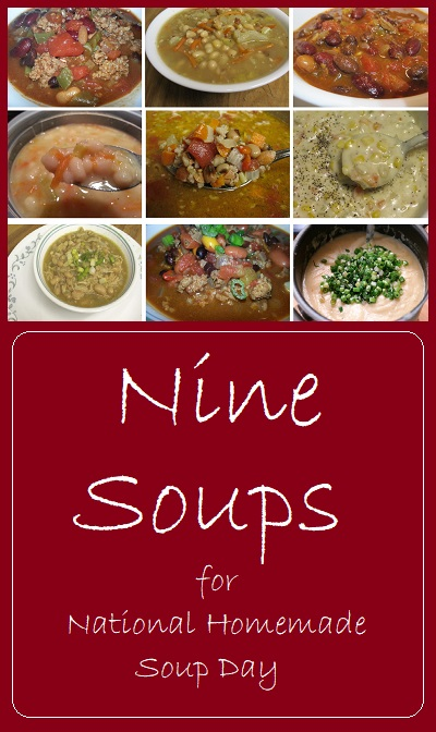 9 soups for national homemade soup day