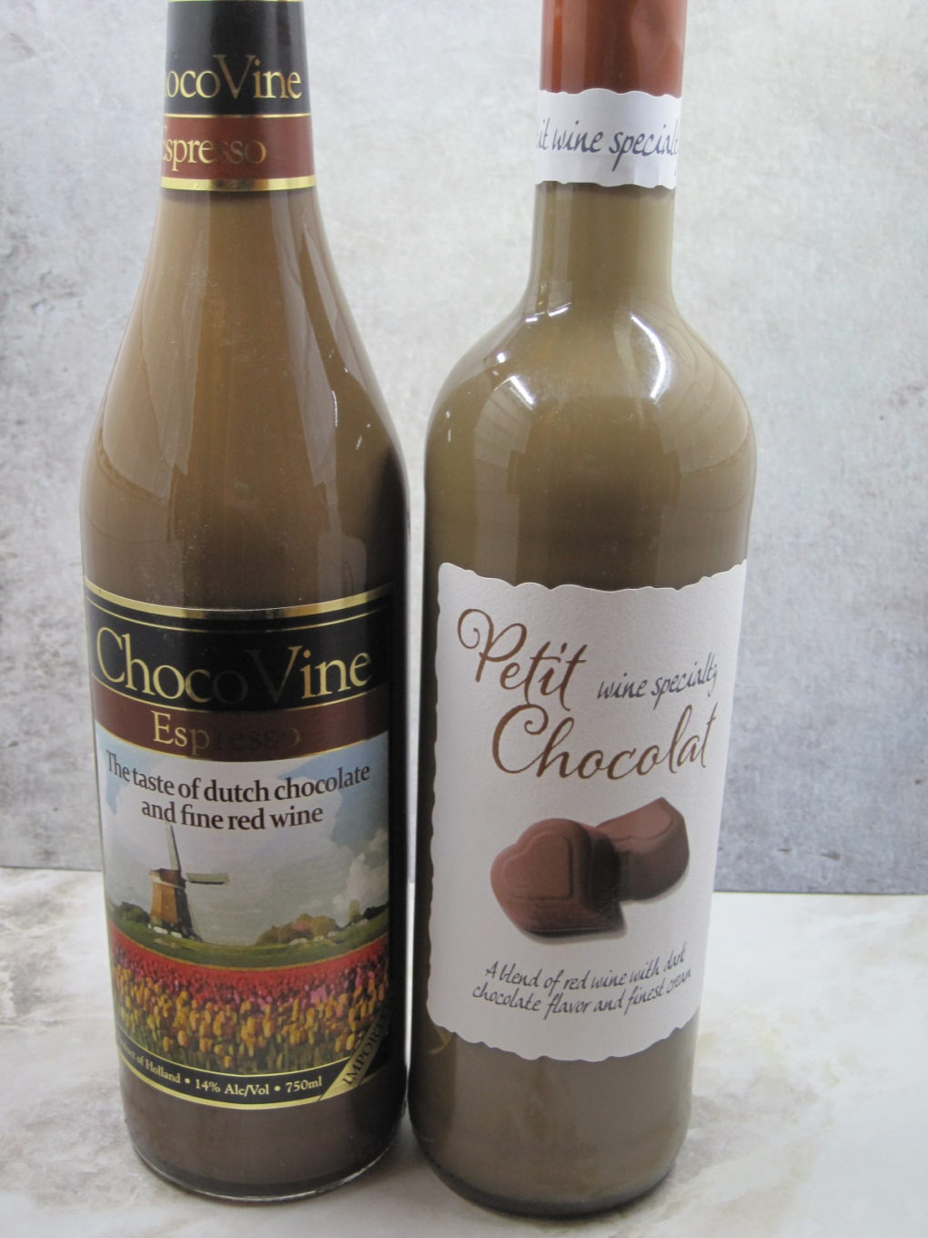 Chocolate Wine Float