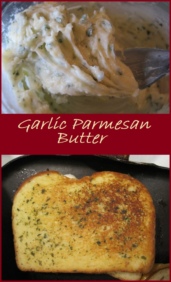 Garlic Parmesan Butter