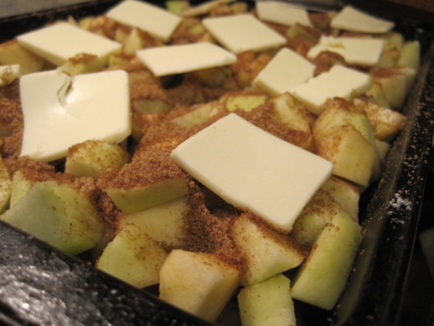 Baked Cinnamon Apple Pork Chops