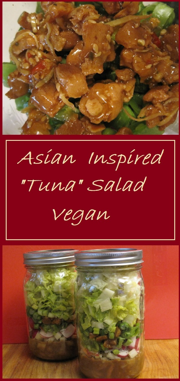 Asian Tuna Salad (Vegan)
