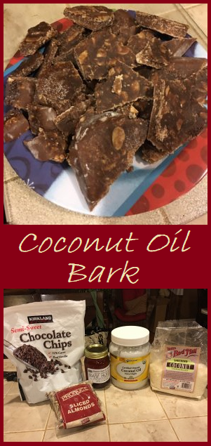 Coconut Oil Bark