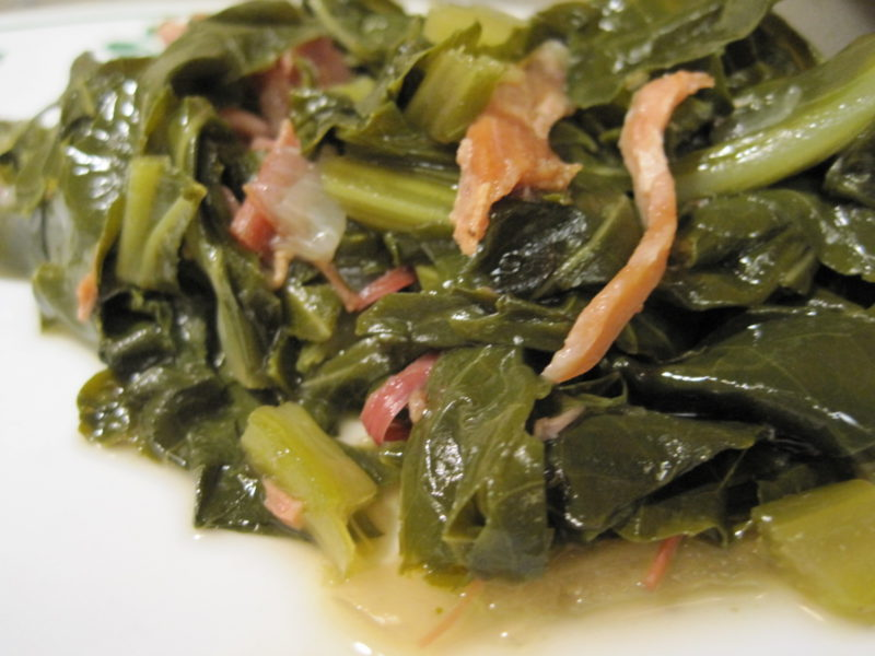 Pressure Cooker Collard Greens and Ham