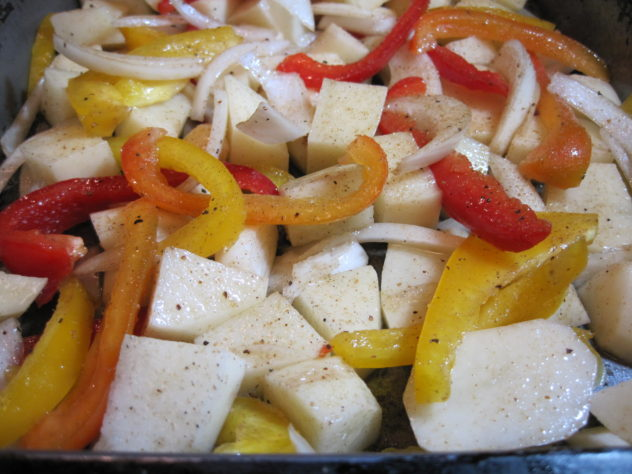Sheet Pan Fajita Potatoes