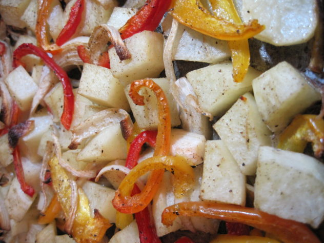 Potato Fajitas