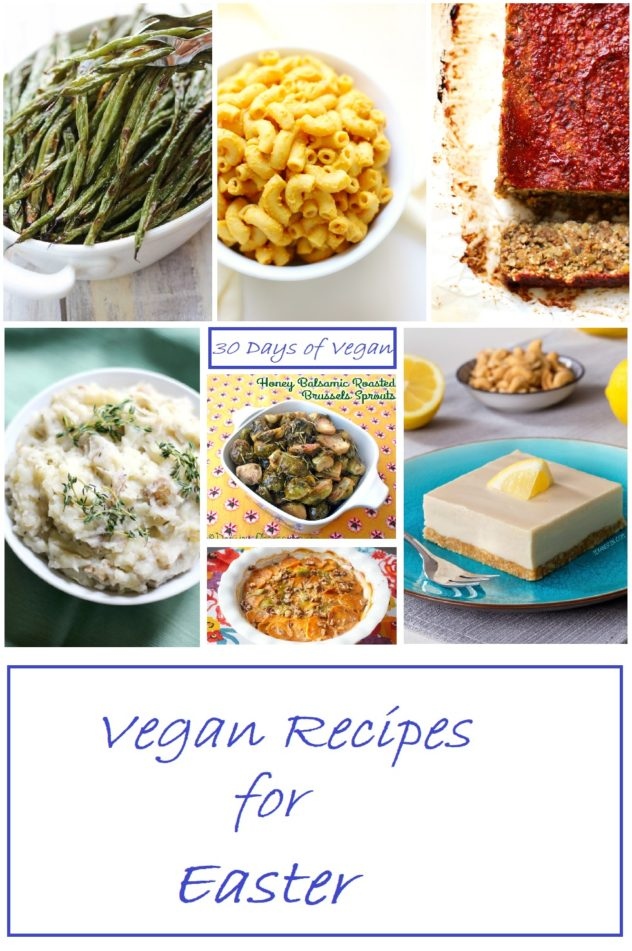 Vegan Recipes for Easter