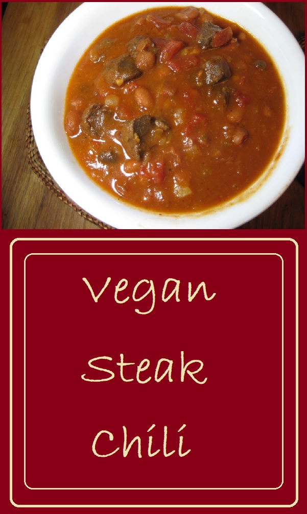 Vegan Steak Chili is a simple, flavorful, and hearty chili that is sure to satisfy the carnivores in your life.