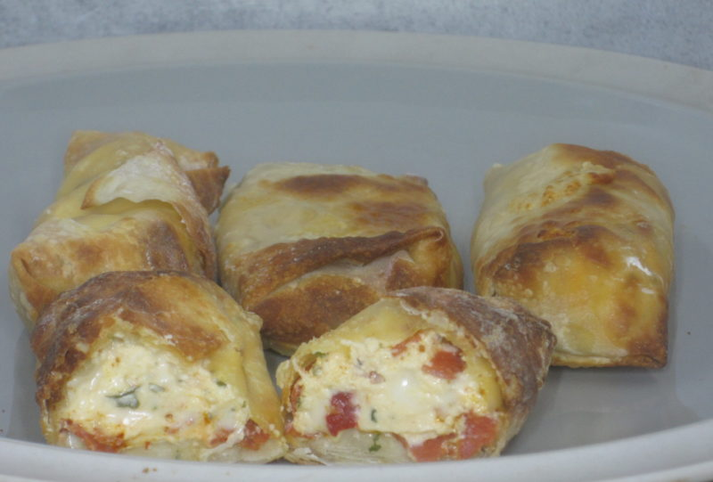 Italian Egg Rolls (Air Fryer)