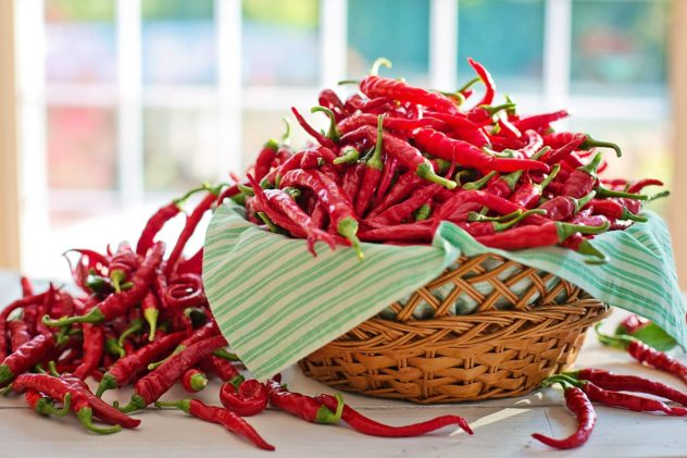 """25 """"Must Have"""" Spices--cayenne and crushed red pepper flakes"""