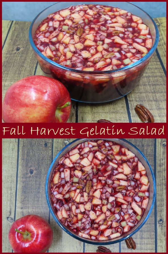 Fall Harvest Gelatin Salad