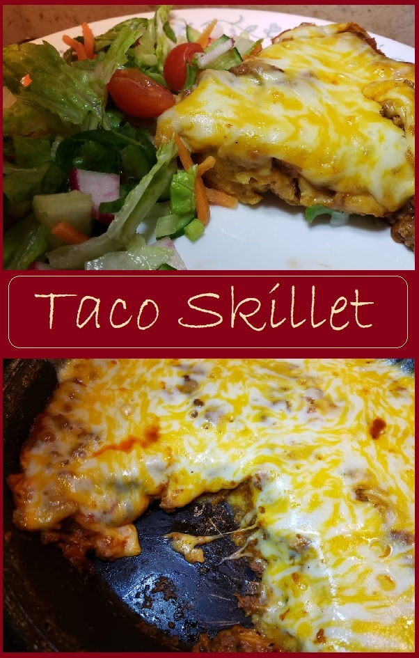 Taco Skillet- a one dish meal
