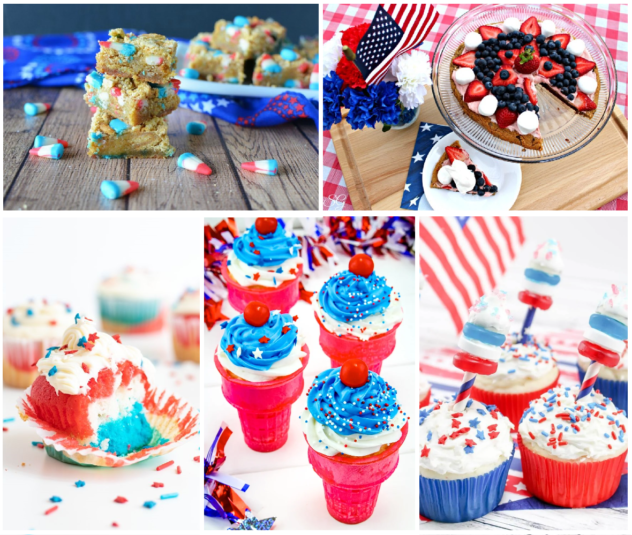Baked Desserts for 4th of July