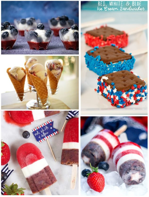 Eight Frozen Treats for Independence Day