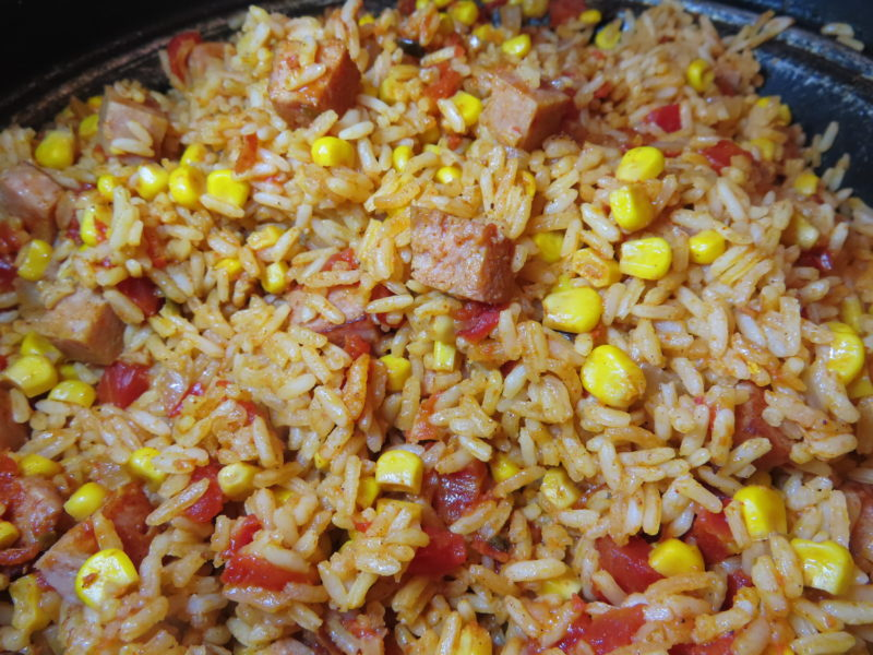 Jambalaya from the Pantry