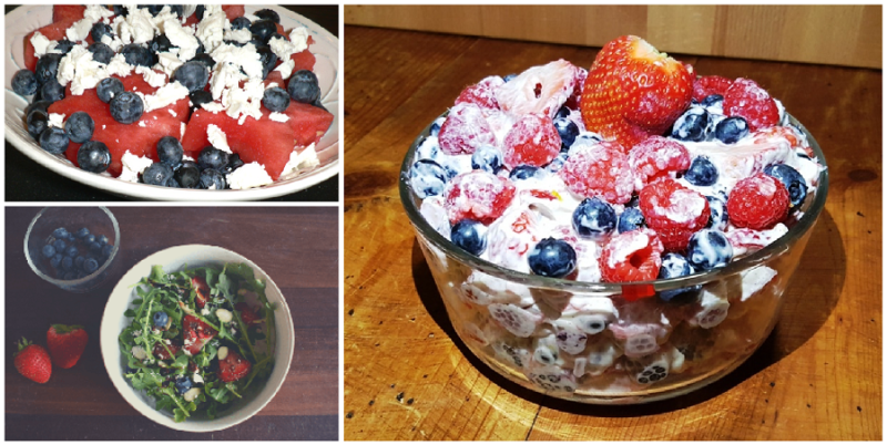 3 Salads for 4th of July
