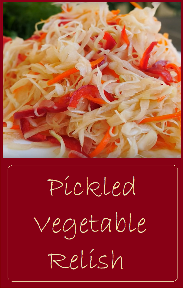Pickled Vegetable Relish