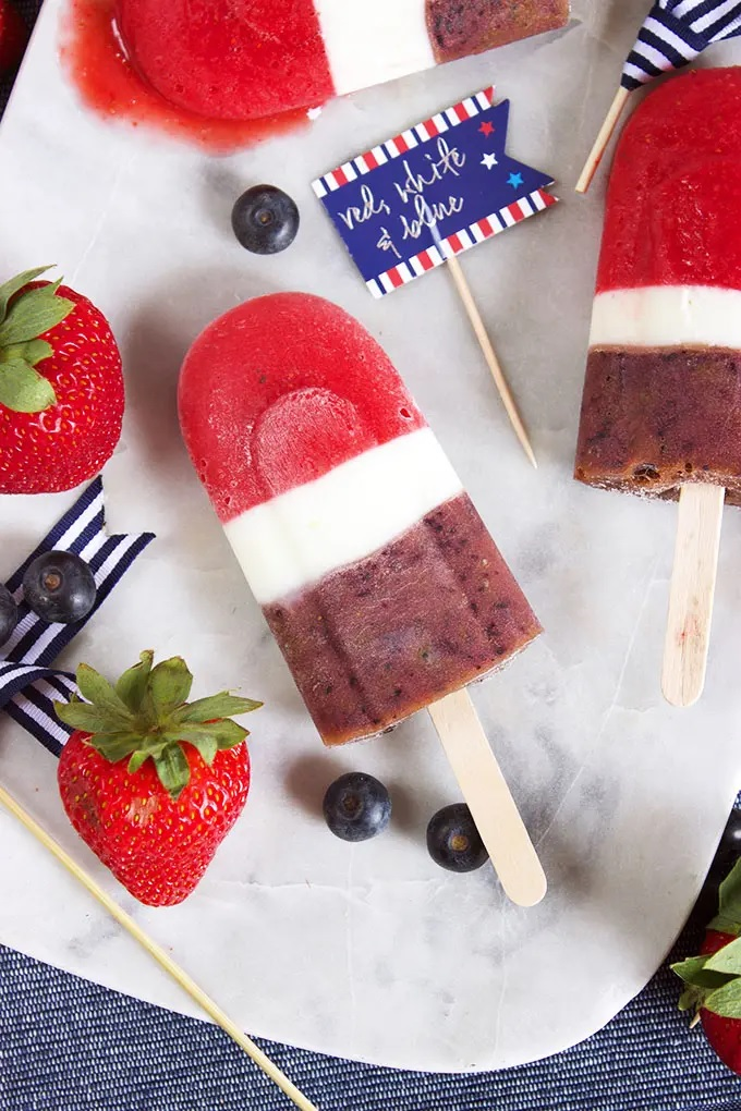 Frozen Treats for Independence Day