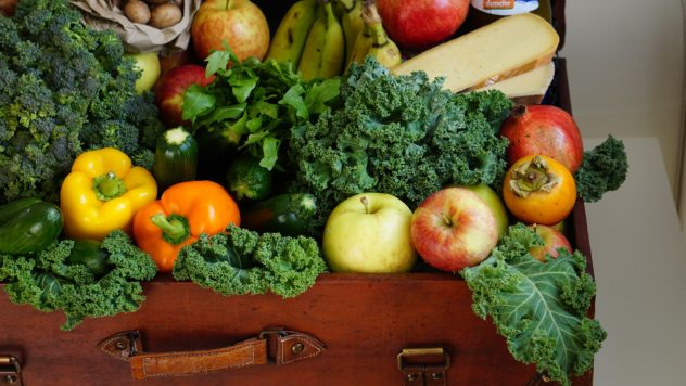 Fruits and Vegetables for the Pantry