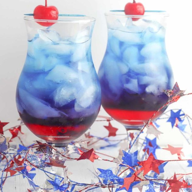 Patriotic Beverages for American Independence Day