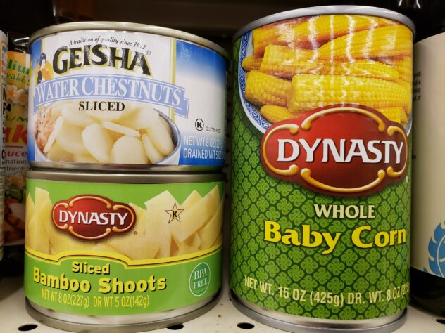 Our favorite canned vegetables.