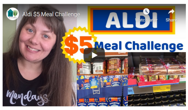 Five Dollar Grocery Challenge
