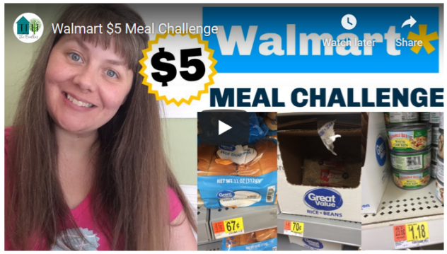 $5 Grocery Challenge