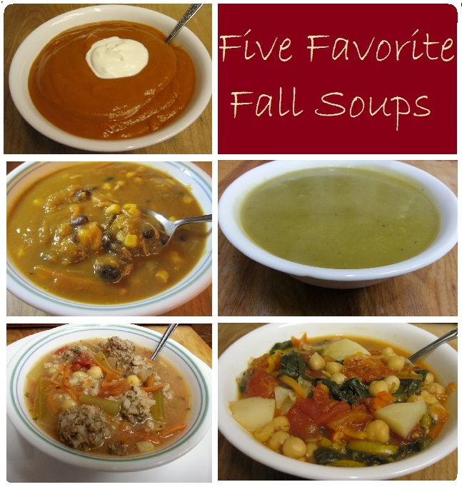 Five Favorite Fall Soups
