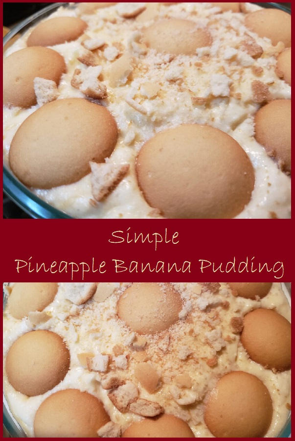 Simple Pineapple Banana Pudding